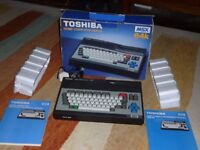 MSX Vintage Computer