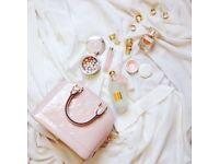 pink louis vuitton alma bag medium
