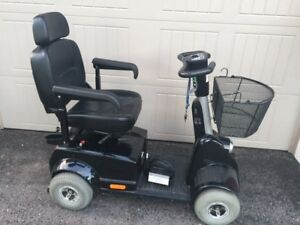 Canadian made Fortress 4 wheel scooter with many options