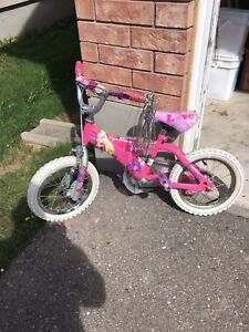 "14"" Barbie bike"