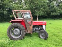 Massey Ferguson 135 for sale Duncan cab