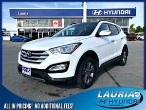 2015 Hyundai Santa Fe Sport 2.4L AWD Luxury - Leather / Panorami