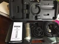 Rode NTK Large diaphragm condenser microphone