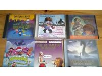 6 Audio childrens cds