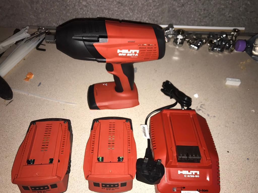 hilti siw 22t a wrench impact driver 1 2 in east end. Black Bedroom Furniture Sets. Home Design Ideas
