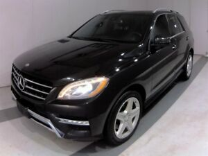 2014 Mercedes-Benz M-Class ML350 BlueTEC, AMG P