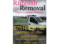 Garden , Garage and house Clearence , Rubbish and Waste Removal