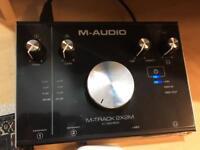 SE Studio mic + M-Audio