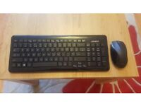 Advent Wireless Keyboard & Mouse Set