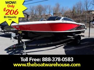 2017 four winns H190SS Mercruiser 250HP Trailer Ext Platform