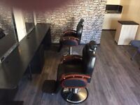 Barber shop for rent. Newly decorated ,new flooring. Darvel East Ayrshire.