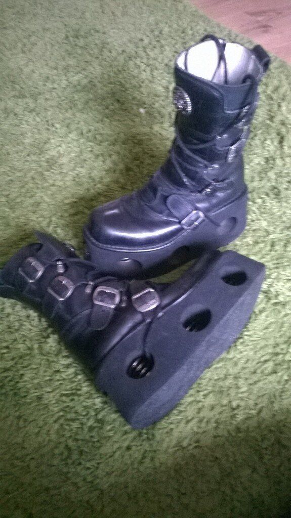 Size 8 New Rock Boots.