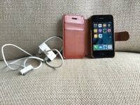 iPhone 4s complete with flip case and charger (unlocked)