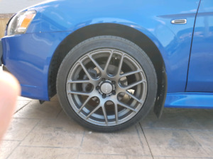 RTX 18 inch rims with tires