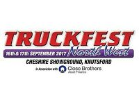 Programme Seller for Truckfest North West 16th / 17th September