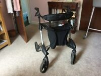 Disabled shopping trolley. Topro Troja walker