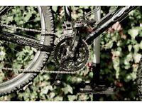 "Carrera Fury 20"" Mountain bike, super light, 27 gears Rock Shox. New BB, crank and Nukeproof pedals."