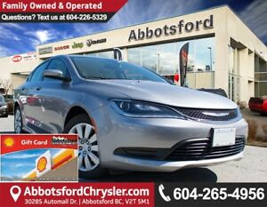 2016 Chrysler 200 LX Like New Showcase Vehicle!