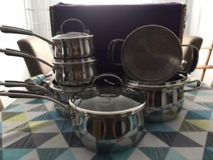 Lagostina Padova Cookware Set, 11-pc