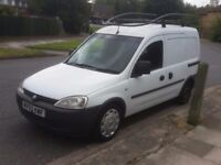 Drive well 2006 reg vauxhall combo diesel quick sale