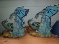 Dragon Ornaments x 2