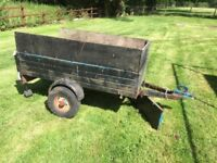 Trailer for spares or repair