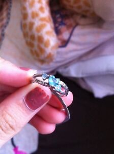 Beautiful real silver ring size 5.5