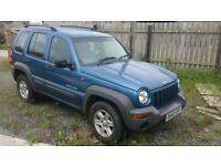 Cherokee Crd Jeep Sport 2.4l 2003 Estate