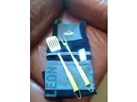 Napolean Professional Grilling Apon. Bodum FRYCAT Grill Shovel/Turner & Fork. New. Not Used.