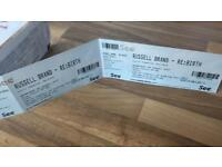Russell Brand Tickets for the Lowry today at 8pm