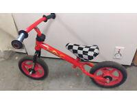 Red and Black children's balance bike