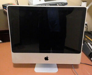 "Apple iMac 20"" All-in-one desktop computer"
