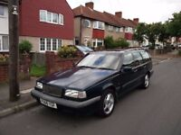 7 seater, reliable Volvo 850 Estate with only 70,000 miles on the clock.