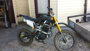 2 dirtbikes for sale 150 and 250 cc brand new
