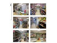 Shelving, fixture and fittings for shop - retail