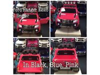 Ford Ranger In StockPink Parental Remote Control,Self Drive Ride-On