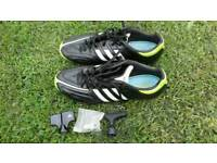 Adidas 11pure pro elite leather football boots UK size 8.5