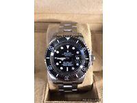 Rolex deep sea dweller deepsea diver 44mm luxury automatic diver watch brand new in Swiss wave box