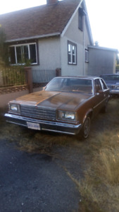 $1200 obo 1979 malibu 2 door for parts or Project $1200 obo