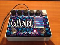 Electro Harmonix - Cathedral Stereo Reverb pedal