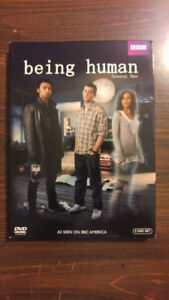 Being Human UK Season 1 DVD Set - Excellent Condition!