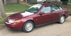 FOR SALE 2001 Saturn Sedan + BLUETOOTH & 2 sets of tires/rims