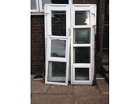 UPVC Double Doors and Windows for sale double doors single windows for bathroom and toilet room