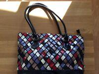 Multi coloured handbag