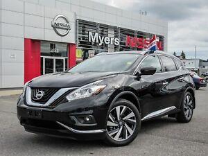 2017 Nissan Murano PLAT AWD, NAVIGATION, INTELLIGENT KEY, LEATHE