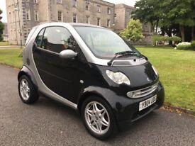 2004 Smart City Passion auto, semi automatic, 12 months MOT, service history, glass roof, £30 tax