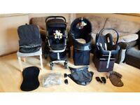 Quinny Buzz 3 Pushchair Pram Stroller - Maxi Cosi Car Seat & Accessories