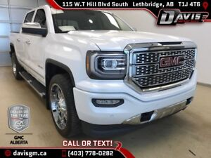 Used 2016 GMC Sierra 1500 Denali 4WD-Heated/Vented Leather, Navi