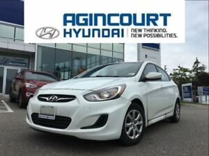 2014 Hyundai Accent GL/HEATED SEATS/ONE OWNER/ONLY 47516KMS