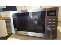 DeLonghi Combi Microwave 900 watts With wall brackets
